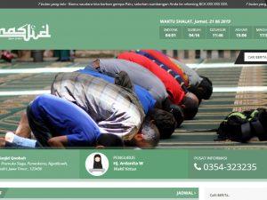 Web masjid